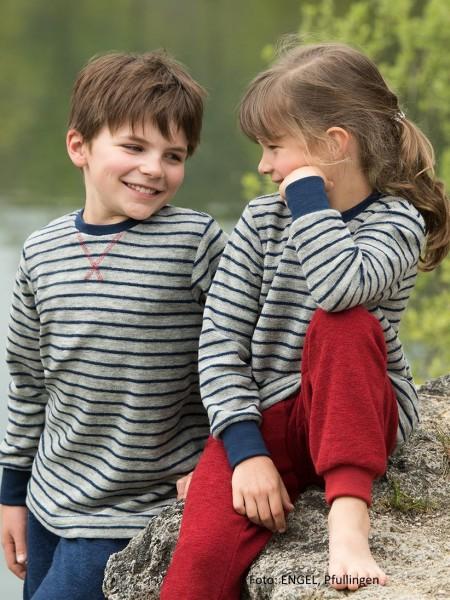 Kinder-Pulli-Schlafanzug-Frottee GOTS