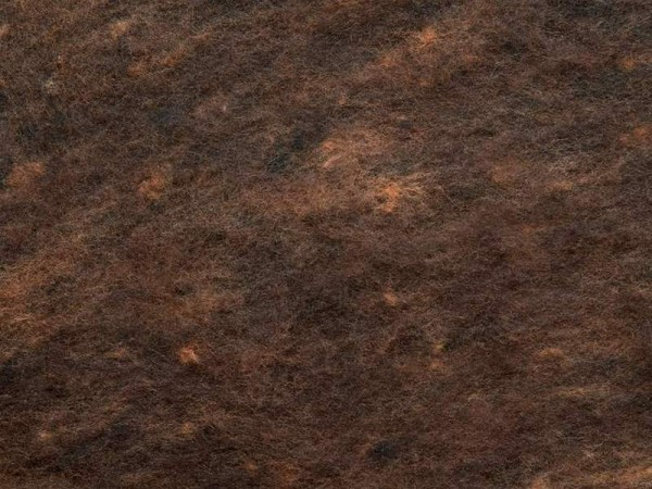Merino-Melange - rotwild extra fein im Vlies