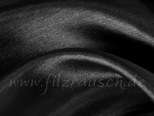 Pongé 5 - schwarz 90 cm breit pro 1 Meter