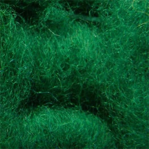 Merinowolle (bunt) - giftgrün extra fein im Vlies