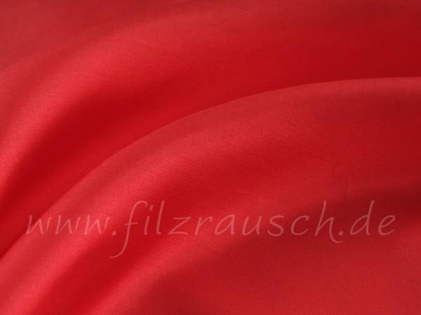 Pongé 5 - rosenrot 90 cm breit pro 1 Meter