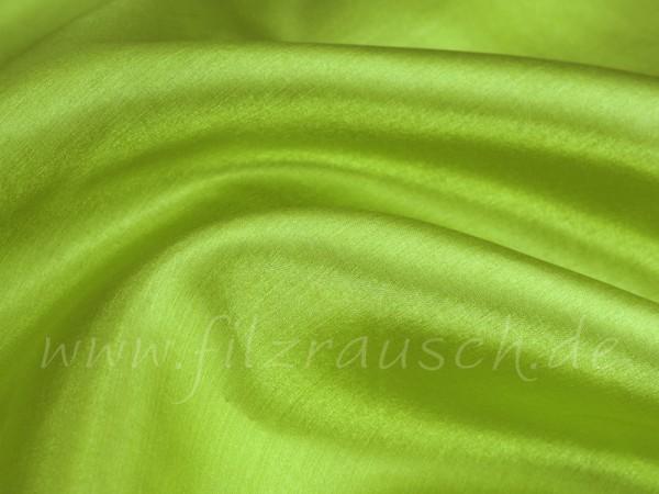 Pongé 5 - orientgrün 90 cm breit pro 1 Meter