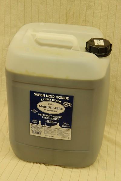 Schwarze Olivenseife Savon Noir - 20 Liter
