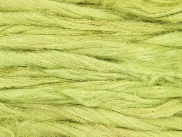 Leinen (bunt) - apfelgrün im Band