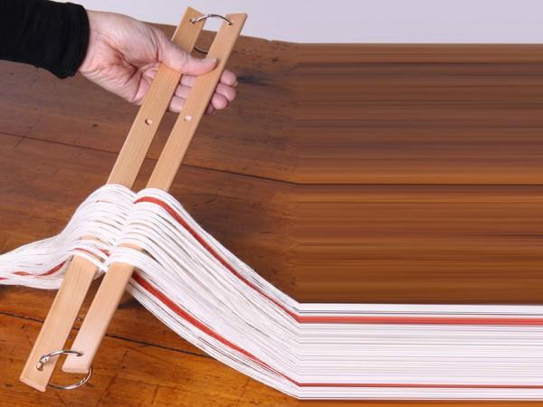 Ashford Kreuzleisten lackiert für Table Loom