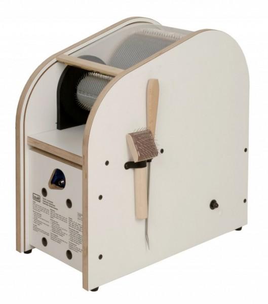 Kardiermaschine elektrisch, Louet - 19 cm Walze, 72ppi