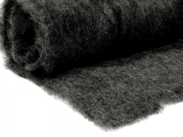 Bergschafwolle (bunt) - grau 75 mittelfein im Vlies