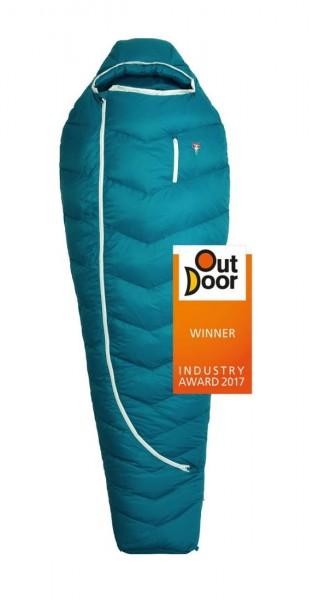 Biopod DownWool Subzero 175 herbstblau / -4°C 850g, Füllung:Wolle/Daune