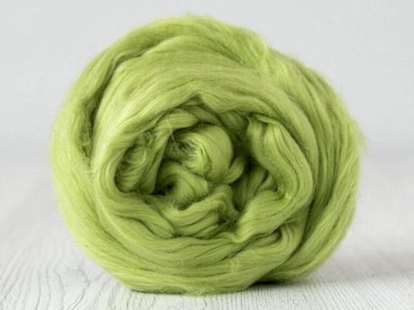lieferbar ab ca. Ende Mai in ca. 20 Farben - Baumwolle, hellgrün sehr fein im Band