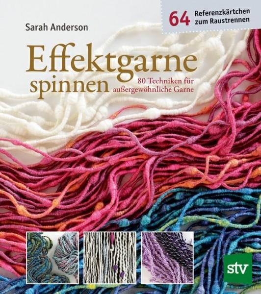 Effektgarne spinnen, Sarah Anderson (Literatur)