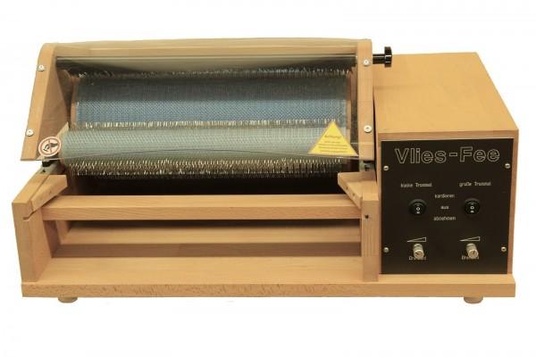 "Kardiermaschine elektrisch ""Vlies-Fee"" 72ppi, 38cm Walze (110V-240V)"