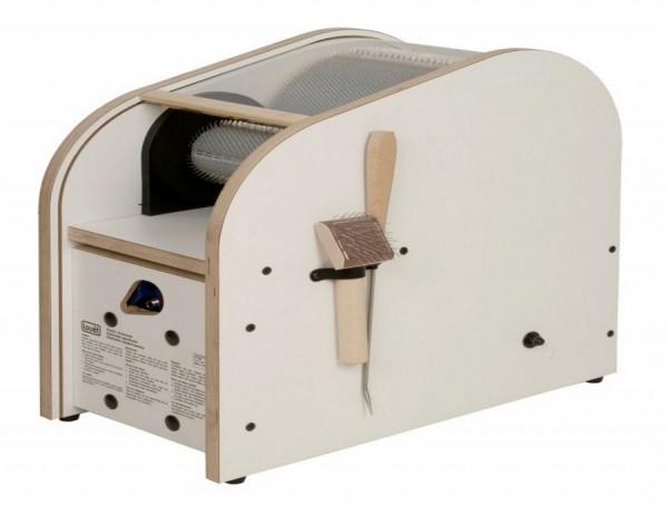 Kardiermaschine elektrisch, Louet - 30 cm Walze, 46ppi