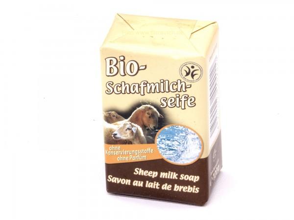 Saling Bio Schafmilchseife neutral KbA 100g (9401)