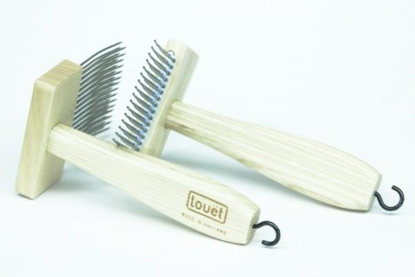Louet Wollkämme zweireihig, 6,5 cm breit (2 Stück) (KP0114)
