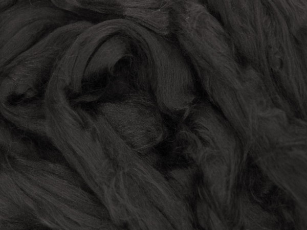 Viskose, schwarzer panther sehr fein im Band