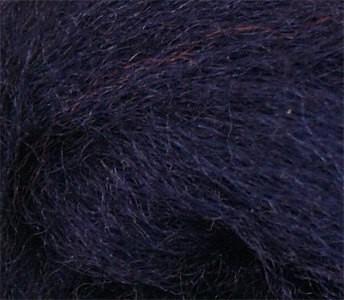 Merinowolle (bunt) - ultramarinblau sehr fein im Band