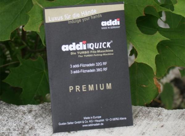 nicht mehr lieferbar - Addi Quick - Ersatznadeln 3F+3G