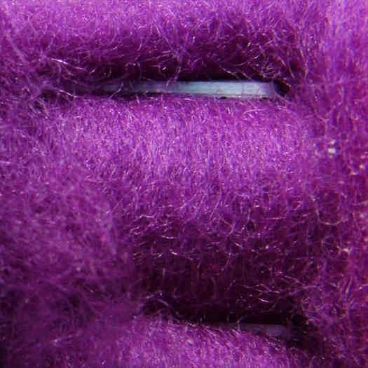 Merinowolle (bunt) - hell violett extra fein im Vlies