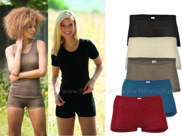 Damen-Pants, 70% Schurwolle/30%Seide (Bio-GOTS)