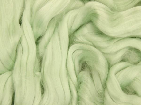 Viskose, seegrün-hell sehr fein im Band