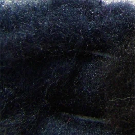 Merinowolle (bunt) - nachtblau extra fein im Vlies