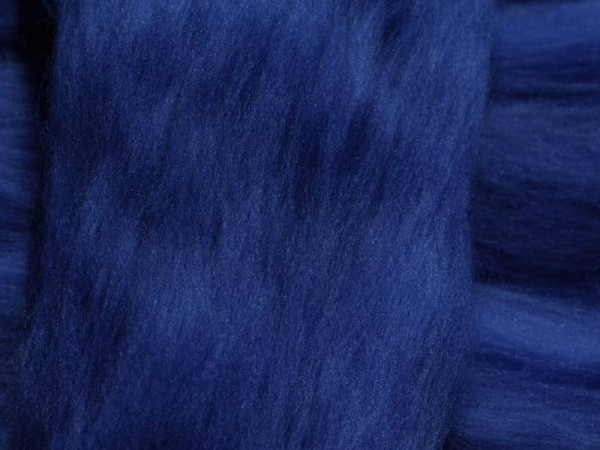 Sonderposten 16mic Merinowolle marineblau superfein 7,99€/100g -30% MA003X