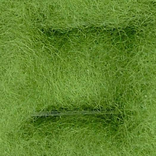 Merinowolle (bunt) - wiesengrün extra fein im Vlies