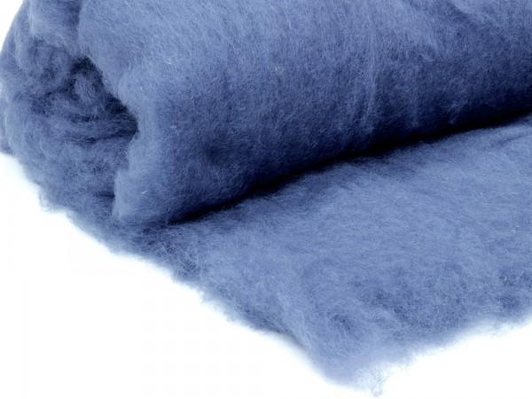 Bergschafwolle (bunt) - augenblaugrau mittelfein im Vlies