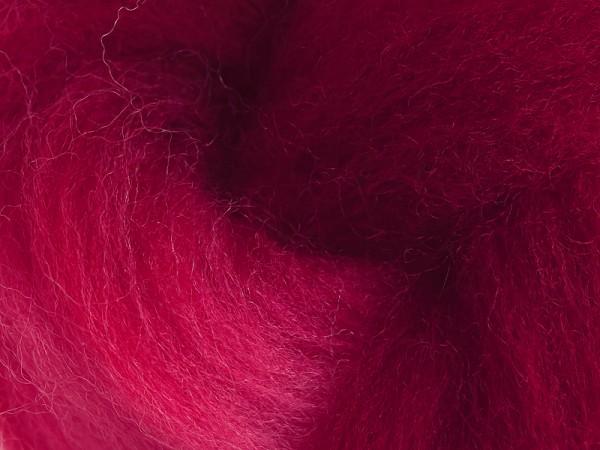 Filzrausch Farbpulver WOSEPO Blaues Rot