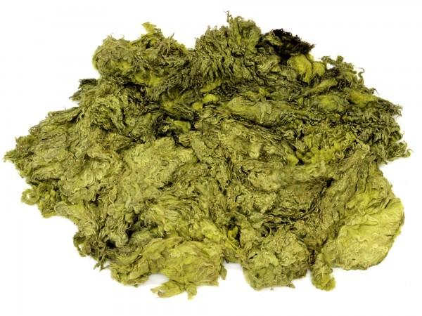 Sonderposten Toupetlocken - hellgrün mittelfein 1kg - gefärbt