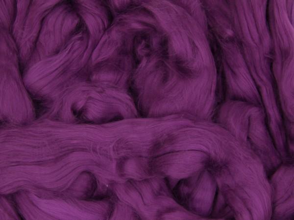 Baumwolle, alliumviolett sehr fein im Band