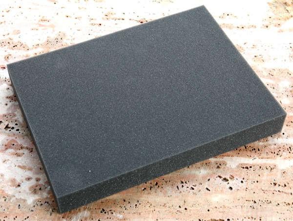 Filznadel-Unterlage - schwarz 40x30x5cm 1 Stück