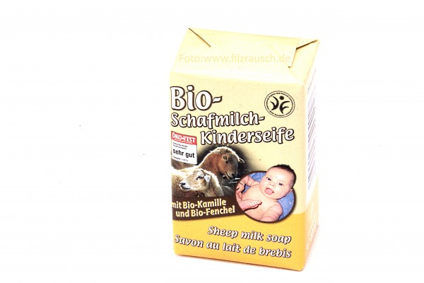 Saling Bio Schafmilchseife Kinderseife KbA 100g (9402)