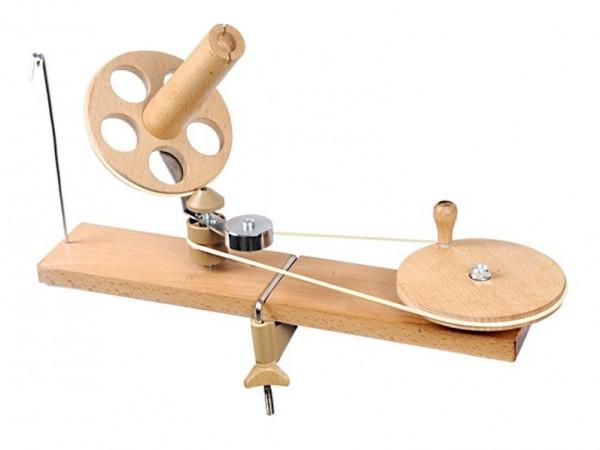 KnitPro Hand Wollwickler/Knäulwickler aus Holz Natur (35005)