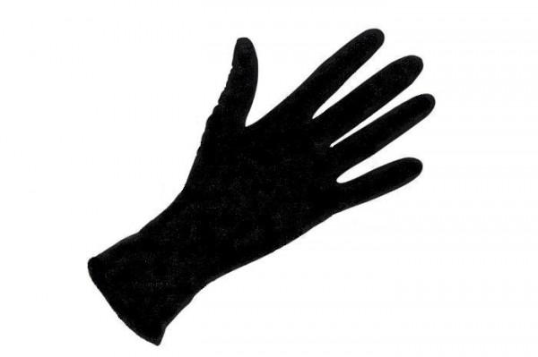 Nitril-Einmalhandschuhe, schwarz, Gr. M, 100 Sück