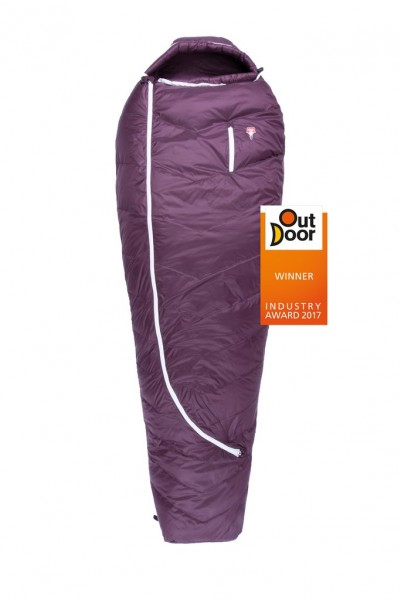 Biopod DownWool Subzero 175 lila / -4°C 850g, Füllung:Wolle/Daune