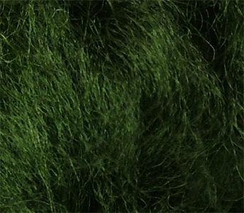 Merinowolle (bunt) - jägergrün sehr fein im Band