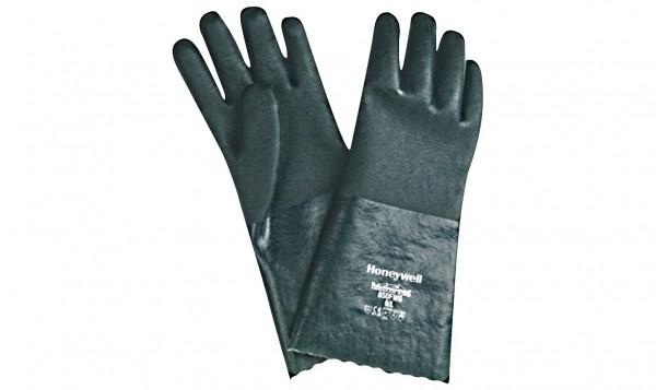 Savety Handschuhe PVC grün Gr.8/M, extra stark, ca. 40cm lang
