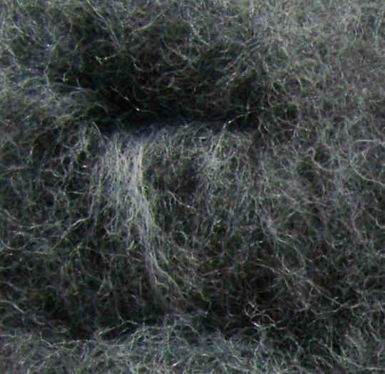 Merinowolle (grau) - grau 50 extra fein im Vlies