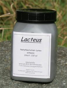Naturkautschuk Latex - schwarz flüssig 200ml 1 Fläschchen