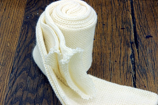 Strickschlauch Paris 400m 75% Wolle (superwash) -25% Polyamid - naturweiß 100g