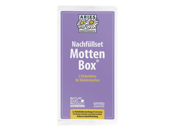 ARIES Mottlock Mottenbox Nachfüllset mit 2 Stück