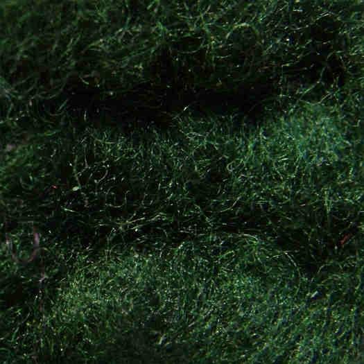 Merinowolle (bunt) - lodengrün extra fein im Vlies