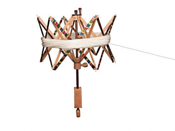 KnitPro Haspel/Strangwickler aus Holz bunt Signature (35001)