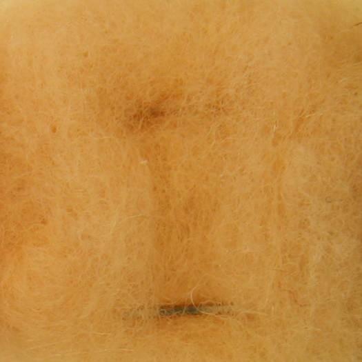 Merinowolle (hautf.) - apricot sehr fein im Vlies
