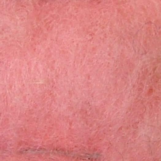 Merinowolle (bunt) - zartrosa extra fein im Vlies