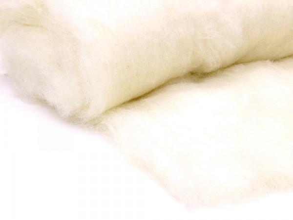 Bergschafwolle - alpenweiß mittelfein im Vlies