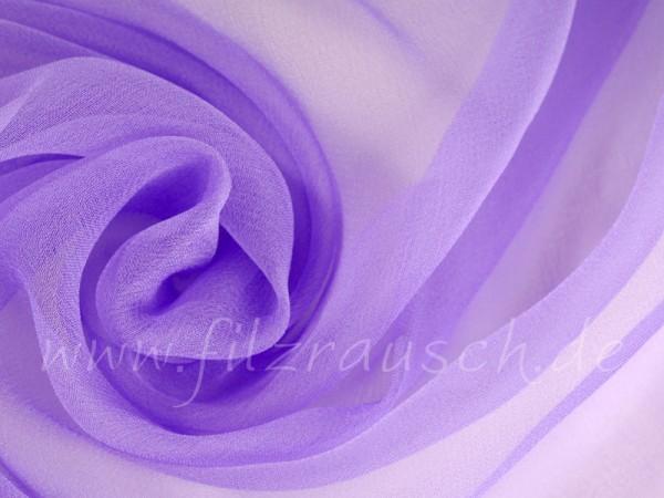 Chiffon 3,5 - lavendel 110 cm breit pro 1 Meter