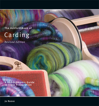 Ashford book of carding Revised Edition ABC, Jo Reeve