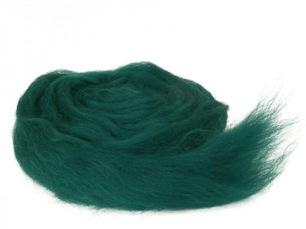 Bergschafwolle (bunt) - forstgrün mittelfein im Band